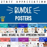 Staff Appreciation Posters Bundle