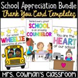 Staff Appreciation Thank You Cards