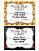 "Staff Awards/Certificates (""Movie Star Award"") Movie Star/Awards Ceremony Theme"