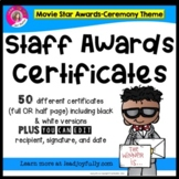 "Staff and Teacher Awards (""Movie Star"")"