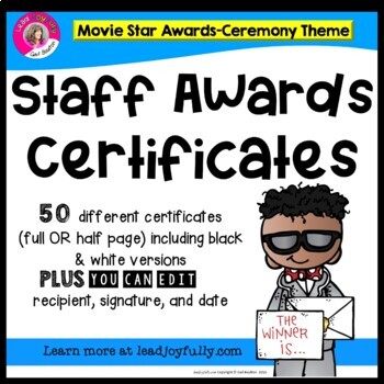 "Staff Awards/Certificates (""Movie Star Award"") Movie Star/"