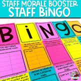Staff Morale | Staff Bingo