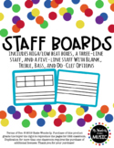 Staff Boards for Melodic Assessment