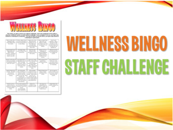 Staff Bundle:  Wellness Challenges