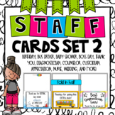 Staff Cards for Every Occasion