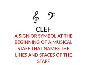 Staff, Clefs, and Time Signatures Quick Lesson