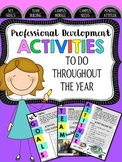 Professional Development Activities All Year Long