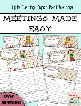 Staff Development Meetings Made Easy