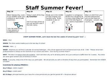 Staff Fun Events