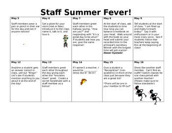Staff Fun Events