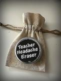 Staff Holiday Gift| Teacher Gift| Headache Eraser| Holiday Staff Gift Ideas|