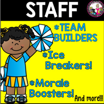 Staff Ice Breakers, Team Builders & MORE!  Mega Bundle!