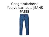 Staff Incentive Jean Passes