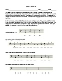Staff Lesson 3 Music Theory Worksheet