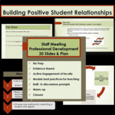 Staff Meeting Presentation - 20 PowerPoint Slides for Prof