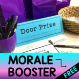 Staff Morale Booster