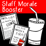 Staff Morale Booster ~ Pinch, Poke, COKE!