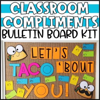 Classroom Compliments Taco Bulletin Board