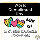Staff Morale Booster: World Compliment Day: March 1