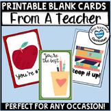 Teacher Appreciation Week Printables Teacher Apprecation Cards