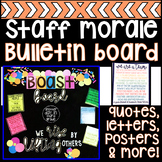 Staff Morale Bulletin Board Display & Activities