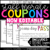 Staff Morale Coupons