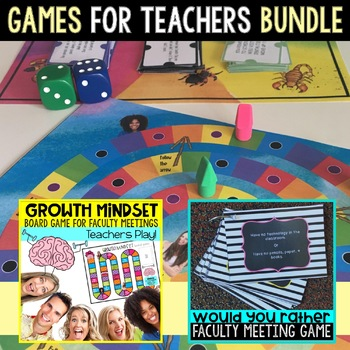 Staff Morale Games for Back to School
