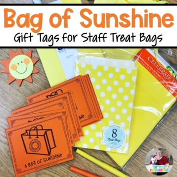 Staff Sunshine School Bundle- 7 Products to Build Morale in One Single Download
