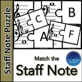 Staff Note Puzzle