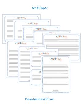 Staff Paper Printables