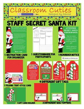 Staff Secret Santa Set