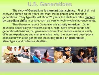 Staff/Student Generational Traits: Boomers, GenX, Millenials (for STAFF LEADERS)