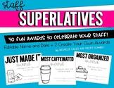 Staff Superlatives: Fun Awards for Faculty