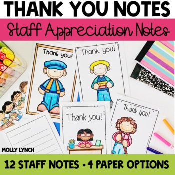 Staff Thank You Notes