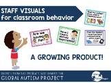 Staff Visuals for Classroom Management