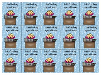 Staff Well-Being Fun Reward Tags (Brag Tags)