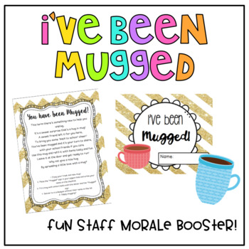 Staff Morale - I've Been Mugged