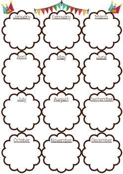 Staff or Classroom Birthday List
