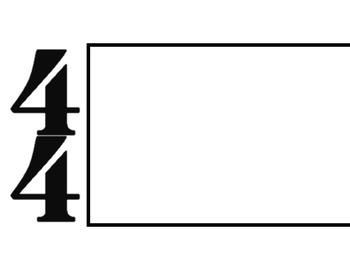 Staff/Rhythm Board