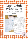 Stage 1-6 Maths Practice Sheets