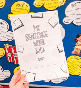 Stage 1 ACARA aligned Sentence Vocab + Grammar Book