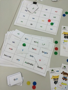 Stage 1 Differentiated Phonics and Word Work Games - Super