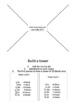 Stage 1 Money rotation activities