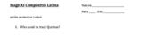 Stage 11 Cambridge Latin course compositio - editable