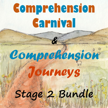 Stage 2 Comprehension 4-Book Bundle