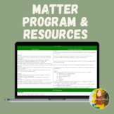 Stage 2 Matter Science & Technology Unit (NSW Outcomes, Experiments, Worksheets)