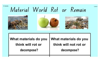 Stage 2 Science Material World Smartboard Pages