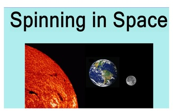 Stage 2 Science Spinning In Space Smartboard Pages