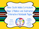 Stage 3 Addition and Subtraction Interactive Notebook Page