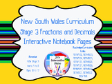 Fractions, Decimals & Percentages Interactive Notebook